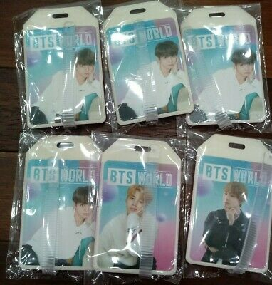 BTS World OST Name Tag limited