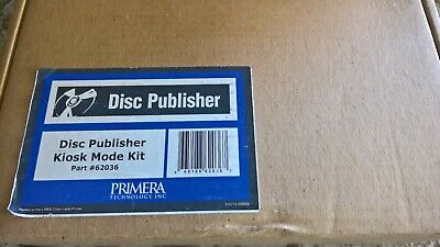 PRIMERA BRAVO II DVD CD Disc Auto Printer duplicator w/100