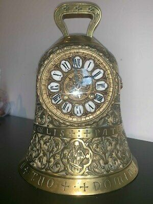 Bell Clock Sanctuart Antique Japy Freres Movement