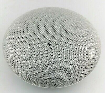 Google Home Mini Smart Speaker with Google Assistant GA00216 Chalk Good