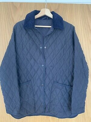 fefc12dde60b7 WOMEN'S BARBOUR D 370 Eskdale Jacket XX Small Jacket Quilted Brown ...