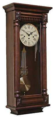 Howard Miller 620196 New Haven Westminster Chiming Cherry Wall Clock FREE SHIPP
