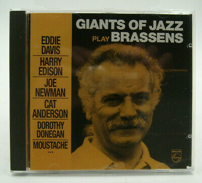 BRASSENS, Georges - Giants of Jazz play - Philips - TTBE
