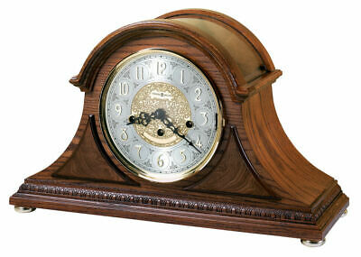 Howard Miller 630202 Barrett II Chiming Oak Mantle Shelf Clock FREE SHIPPING