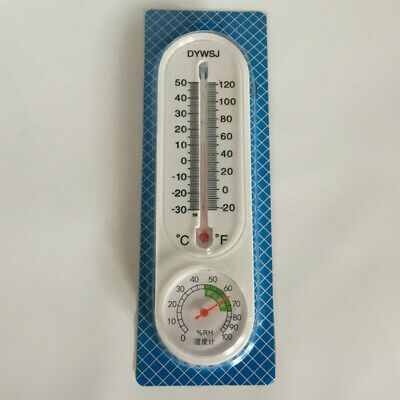 Household Thermometer Hygrometer Indoor Wall Hanging Weather Tester H TEUS
