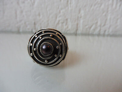 Beautiful, Old Ring __925 Silver __ with Stone