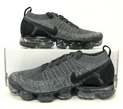321205032Nike Air Vapormax Flyknit 2 Wolf Grey Running Shoes 942842-002 Size 7.5