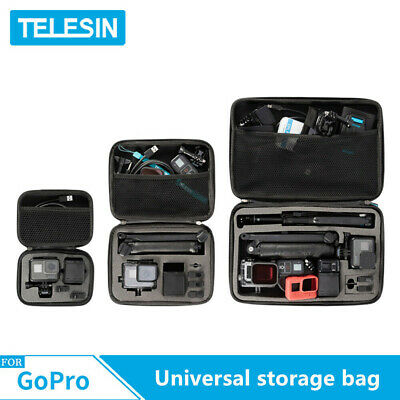 TELESIN Mini S M Universal Storage Carry Bag Case For GoPro DJI Action Camera US
