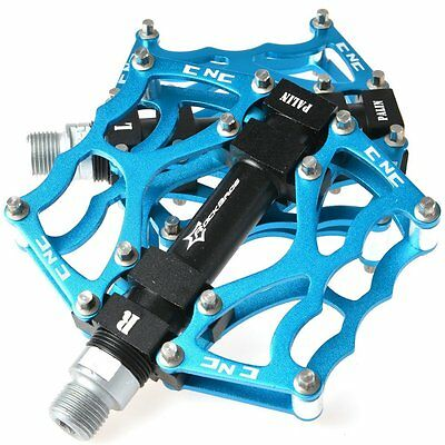 RockBros Mountain Bike Pedals Road MTB Sealed Bearing Bicycle Pedals 9/16 Blue