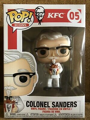 Funko Pop! Ad Icons: KFC - Colonel Sanders #05 Kentucky Fried Chicken Brand New