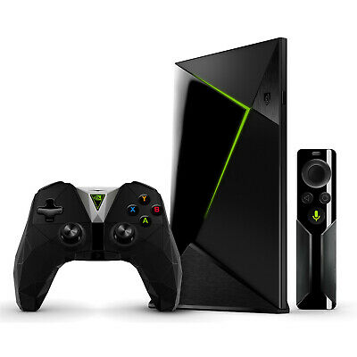 NVIDIA Shield TV 16GB Media Player with Controller and Remote 4K HDR Streaming