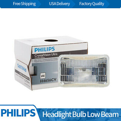 Philips 1pc Headlight Lamp Light Bulb Low Beam Fits 1984 Audi 4000 Quattro BY08