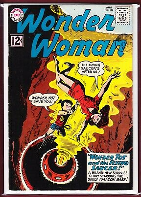 Dc _ Wonder Woman # 132 _ Fn/Vfn _ 1962.