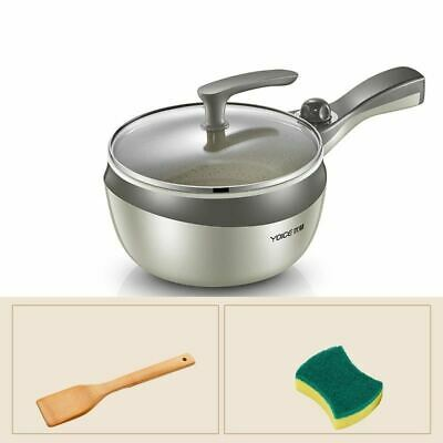 1 Pc Multi function Cooker Electric Skillet Noodle Cooking Pot Non-stick Mini Fr