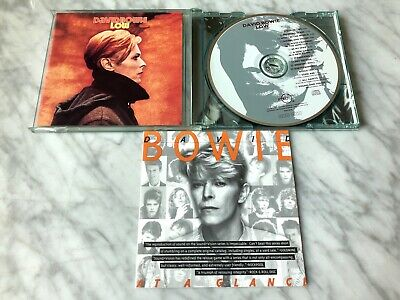 David Bowie LOW CD 1990 GREEN CASE! Rykodisc w/Bonus Tracks RARE! EXTRA BOOKLET!