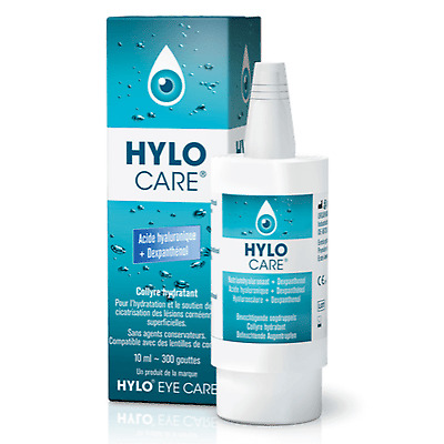 HYLO CARE Collyre Hydratant 10ml Hydratation et soin