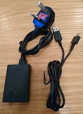 Genuine Sony PS Vita Charging Cable Plug Set. Charger power adapter Playstation