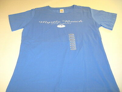 Myrtle Beach South Carolina Tourist Vacation T-Shirt New! NWT Women's Ladies MED