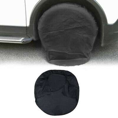 1× Wheel Tire Tyre Silver Protection Cover For Car Jeep RV SUV Truck Trailer