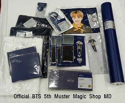 Official BTS 5th Muster Magic Shop MD