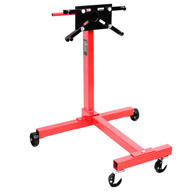 DKIEI Heavy duty Swivel Transmission Engine Gearbox Support Stand 1000 lbs 450kg