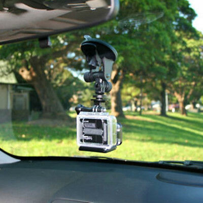 Suction Cup Mount Tripod Adapter Camera Accessories For Go pro Hero 4/3/2/Hd JD