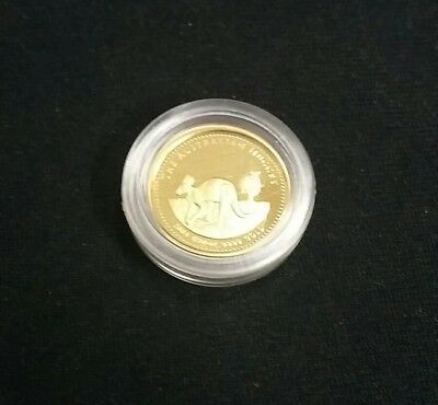 2004 1/20 oz Australian Gold Nugget Proof Rare mintage of #367