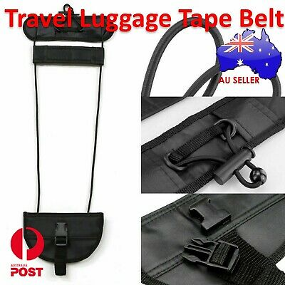 New Suitcase Travel Luggage Adjustable Tape Belt Add A Bag Strap Carry On Bungee