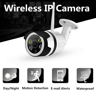 Outdoor Indoor Security Wireless Smart IP Camera Wifi Waterproof Two-Way Audio