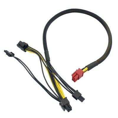 PCIE VGA Power Cable for  HCP-850-1300 PLATINUM 6+2 ANTEC 16 PIN TO dual 8 pin