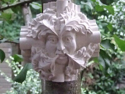 Green Man Wall Plaque - Roof Boss from Winchester Cathedral