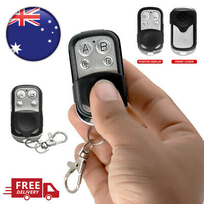 4pcs Universal Replacement Garage Door Car Gate Remote Control Cloning Key Fob