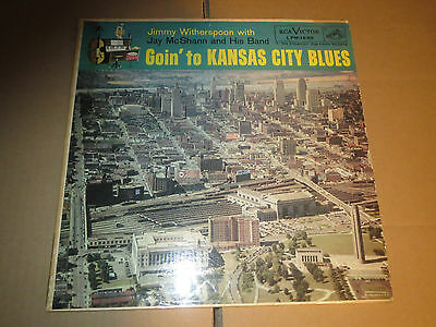 33RPM RCA Victor DG Jimmy Witherspoon, Goin' to Kansas City Blues clean E-V+E-
