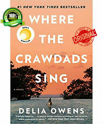 Where the Crawdads Sing by 🔥 Delia Owens 🔥 2018 Free fast shipping P.D.F