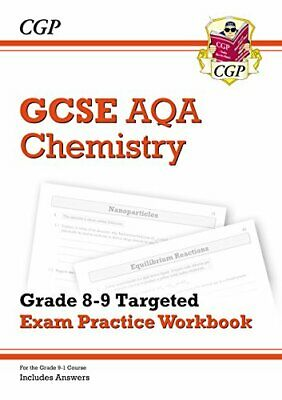New GCSE Chemistry AQA Grade 8-9 Targeted Exam Practice Workbook (includes Answ