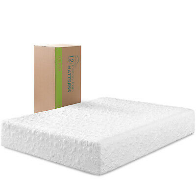 """12"""" Inch NEW Cool & Gel Memory Foam Mattress for KING Size Bed Plush Firm"""