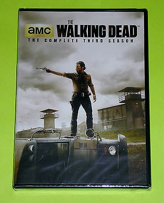 TV DVD Set - The Walking Dead - The Complete Third Season (New) 5-Disc Set