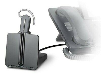 Plantronics CS540/HL10 Wireless Telephone Headset System With Lifter Black
