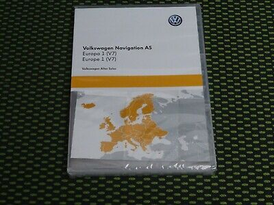 Original VW  Navigation SD Karte Europa 1 V7 3G0919866BC