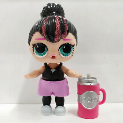lol doll Big Sister Series GG-004 Black Hair DIY Black Dress Girls Birthday Gift