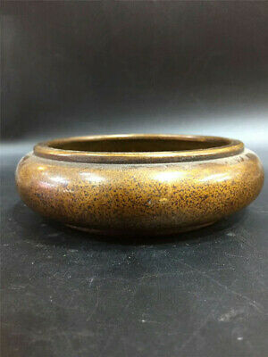 Collection Chinese pure copper Handmade Ashtray Pen wash Brush washer