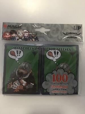 Chibi Collection Garruk - UP Standard Sleeves (100 Bustine protettive)
