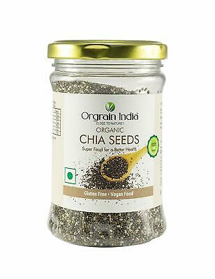 Certified Organic Chia Seeds  150 gms UK