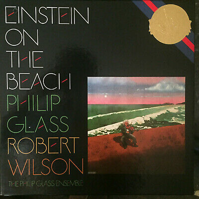 Cbs Masterworks M4 38875 Philip Glass Einstein On The Beach *Cut-Out* Ex-/Nm