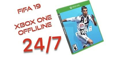 FIFA 19 Xbox One (digital)Offline On Your Account!!Instant Shipping  24/7.