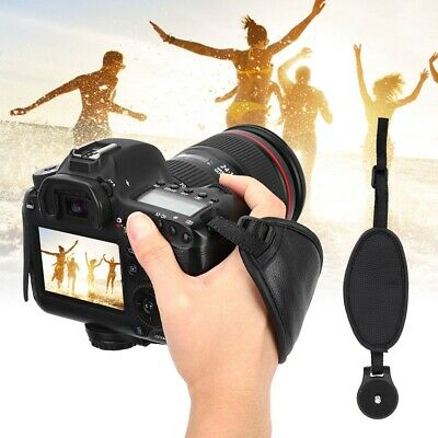 PU Leather Hand Wrist Strap Anti-lost Holder Grip for Canon for Sony DSLR Camera