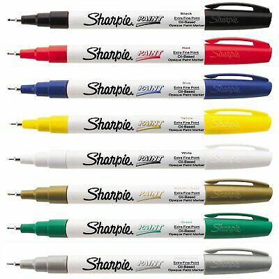 Sharpie Oil-Based Paint Markers Value Set Extra Fine Point Assorted Pack Of 8
