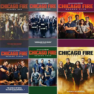 Chicago Fire: The Complete Season 1-6 Series DVD 1 2 3 4 5 6 Set New