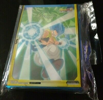 50 Sleeves Dragon Ball Super Card Game - Promo - Gogeta Broly Movie