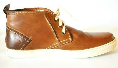 9cd6d6f232a MENS 11 SHOES STEVE MADDEN Fabric Leather Lace up Chukka Boot HARKEN ...